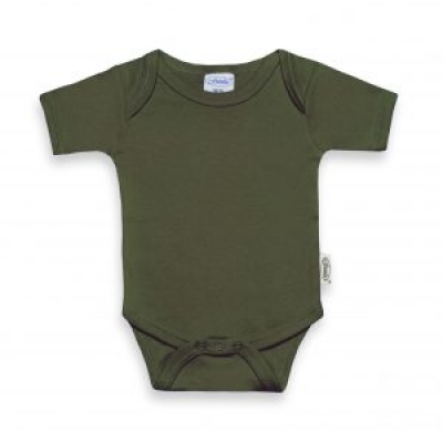 Funnies Romper Forest green