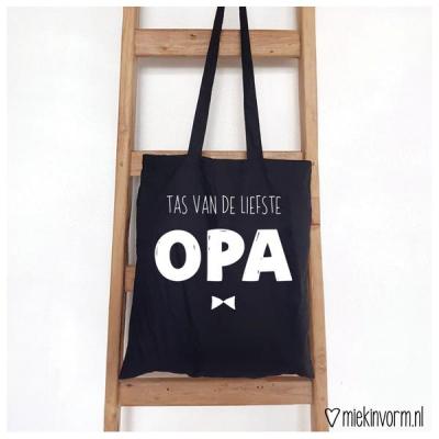 Tas voor de liefste Opa